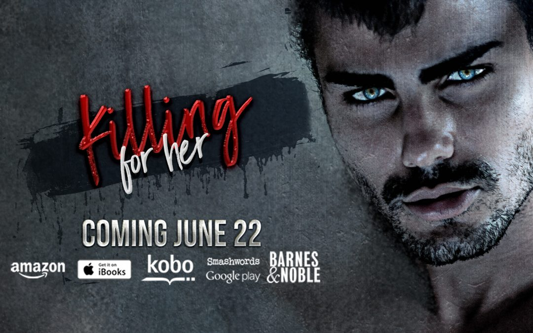 Cover Reveal + Giveaway! He's Killing for Her